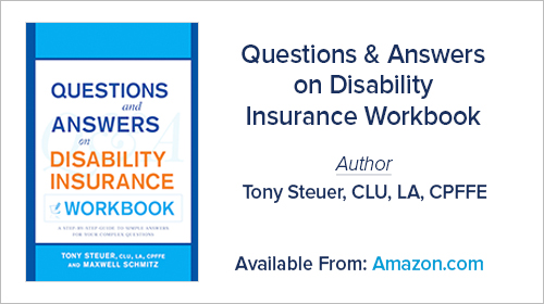Questions & Answers on Disability Insurance Workbook