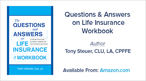 Questions & Answers on Life Insurance Workbook